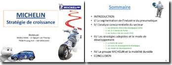 La stratégie de croissance de Michelin