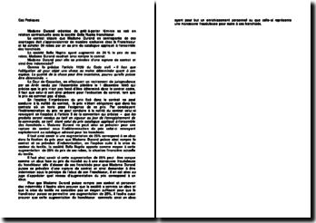Etude d'un cas pratique sur la rupture de contrat et une possible indemnisation