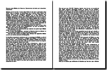 Discours entre Médée et la Nourrice: commentaire de texte sur le deuxième mouvement
