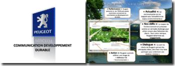 Communication et développement durable: entreprise Peugeot