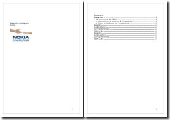 Diagnostic stratégique de Nokia