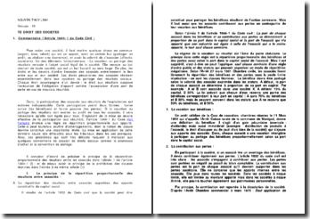 Commentaire l'article 1844-1 du Code civil