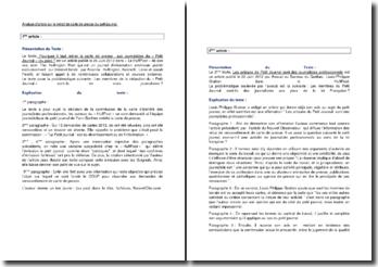 Analyse de deux articles sur le retrait de carte de presse du Petit journal