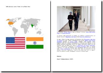 Les relations entre l'Inde et les Etats-Unis et entre l'Inde et l'Occident