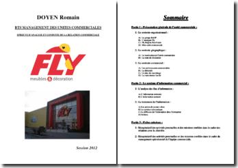 Epreuve d'analyse et conduite de la relation commerciale : la société Fly