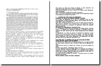 Projet de Code Civil, Jean-Ignace Jacqueminot, Frimaire an VIII