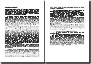 Synthèse de documents