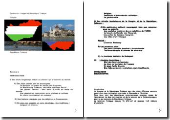 Destination Hongrie et République Tchèque