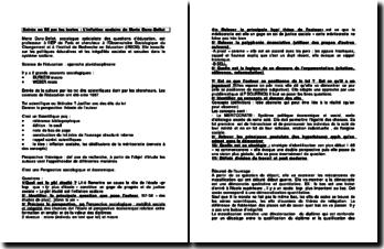 L'inflation scolaire de Marie Duru-Bellat et Mobilisation et découragement de Pierre Merle