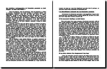 Les évolutions contemporaines de l'exécution provisoire en droit français : un essor sans limites ?