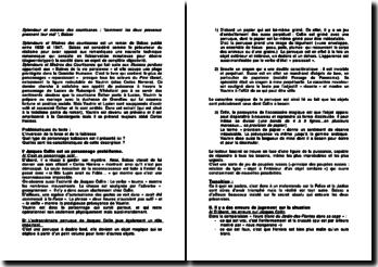 Splendeur et misères des courtisanes : comment les deux prévenus prennent leur mal , Balzac