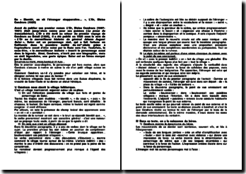 De « Bientôt, on vit l'étranger réapparaître... », L'Or, Blaise Cendrars (1925)