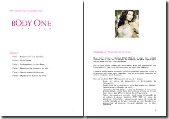 Création d'un magasin franchisé : Body One lingerie