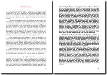 L'alerte et l'ouverture de la procédure de redressement et de liquidation judiciaire