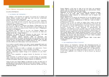 France Télécom, monographie d'entreprise