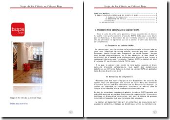 Cabinet Bops: la société civile professionnelle d'avocats