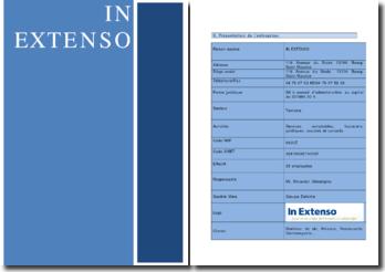 Stage de comptabilité en entreprise: entreprise In Extenso