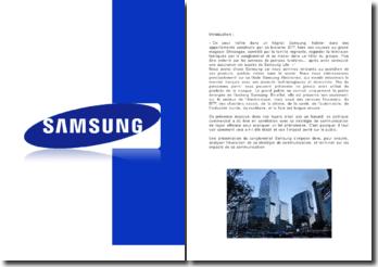 Le conglomérat Samsung
