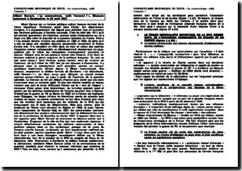 Le communisme, voilà l'ennemi ! - Albert Sarraut, Discours prononcé à Constantine le 23 avril 1927