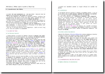 Eglise et société au Moyen-Age - Anne-Marie Helvétius, Jean-Michel Matz : L'encadrement des fidèles