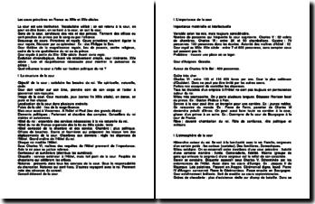 Les cours princières en France au XIVe et XVe siècles