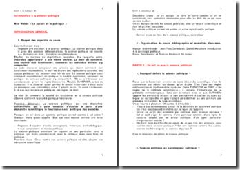 Introduction à la science politique - les règles de la méthode sociologique de Durkheim
