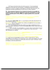 Etude d'un cas pratique sur l'affiliation au régime général de la sécurité sociale d'un gérant de stations-service