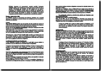Etude de cas pratique sur le contrôle d'une entreprise par l'URSSAF en droit de la sécurité sociale