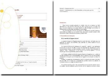 L'analyse de la stratégie client pour la marque Le Petit Marseillais