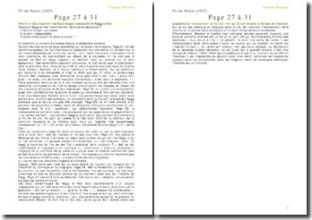 Fin de Partie, de Samuel Beckett: page 27 à 31
