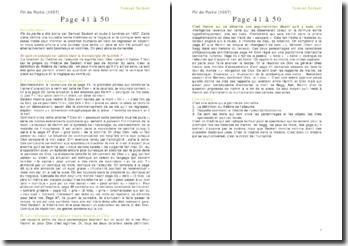 Fin de partie - Samuel Beckett - : page 41 à 50