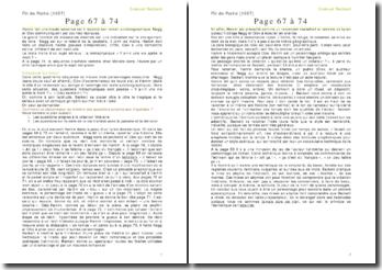 Fin de partie - Samuel Beckett - : page 67 à 74