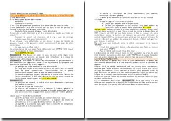Conseil d'état, société AVENANCE 2009