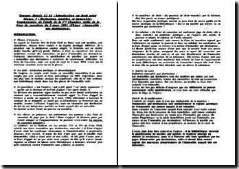 Commentaire de l'arrêt de la 1ère Chambre civile de la Cour de cassation du 5 mars 1991 : immeuble par destination