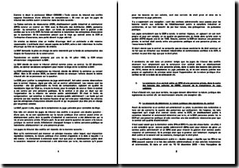 Commentaire d'arrêt, tribunal des conflits, 16 octobre 2006: conclusion d'un contrat entre un établissement industriel et commercial et une personne privée