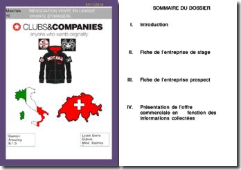 L'offre pro-format et l'offre commerciale de l'entreprise suisse Manyways
