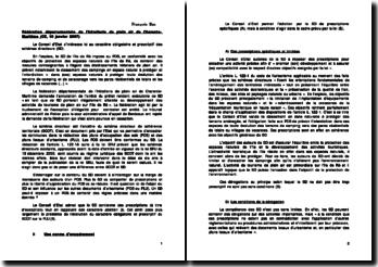 Commentaire d'arrêt, fédération départementale de l'hôtellerie de plein air de Charente-Maritime, CE, 10 janvier 2007: le schéma directeur