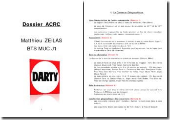 Analyse et Conduite de la Relation Commerciale chez Darty