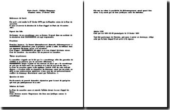 Fiche d'arrêt de la Chambre mixte de la Cour de cassation du 27 février 1970 : l'affaire Dangereux