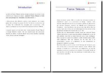 Analyse stratégique de France Telecom