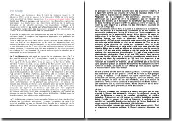 Le fonctionnement de l'Union européenne et l'ordre juridique de l'Union
