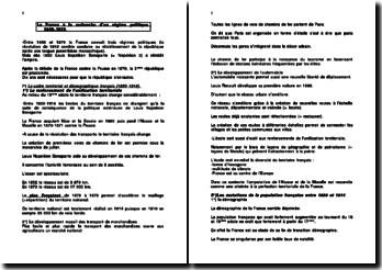 La France à la recherche d'un régime politique 1848-1879