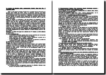 La cession de clientèle civile, commentaire d'arrêt, Cass 1ère Civ., 7 novembre 2000