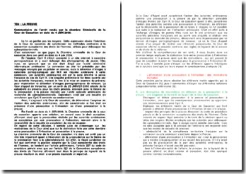 Commentaire de l'arrêt rendu par la Chambre criminelle de la Cour de cassation en date du 4 juin 2008 : la provocation à l'infraction