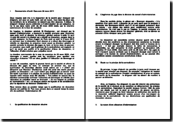Commentaire d'arrêt de la Chambre commerciale de la Cour de cassation du 29 mars 2009 : les conditions pour qualifier une révocation d'abusive