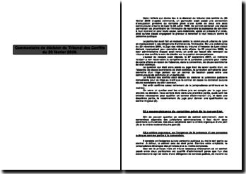 Commentaire de décision du Tribunal des Conflits du 20 février 2008