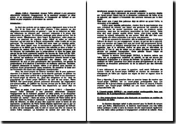 Commentaire de l'article 1105-4 du Code civil
