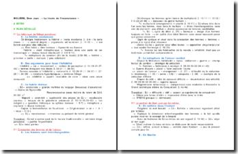MOLIÈRE, Dom Juan - « La tirade de l'inconstance »