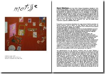 Analyse du tableau: L'Atelier rouge, 1911 - Henri Matisse -
