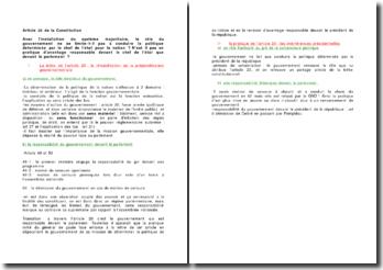 Article 20 de la Constitution